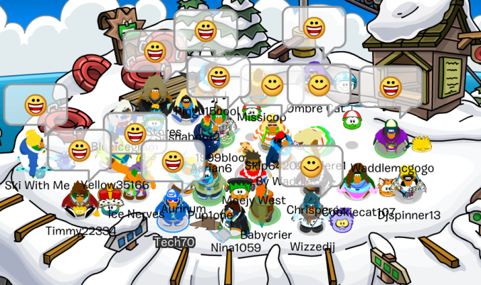 Smiles all around! Last month, I had a blast with my penguin pals during my GAME ON event.